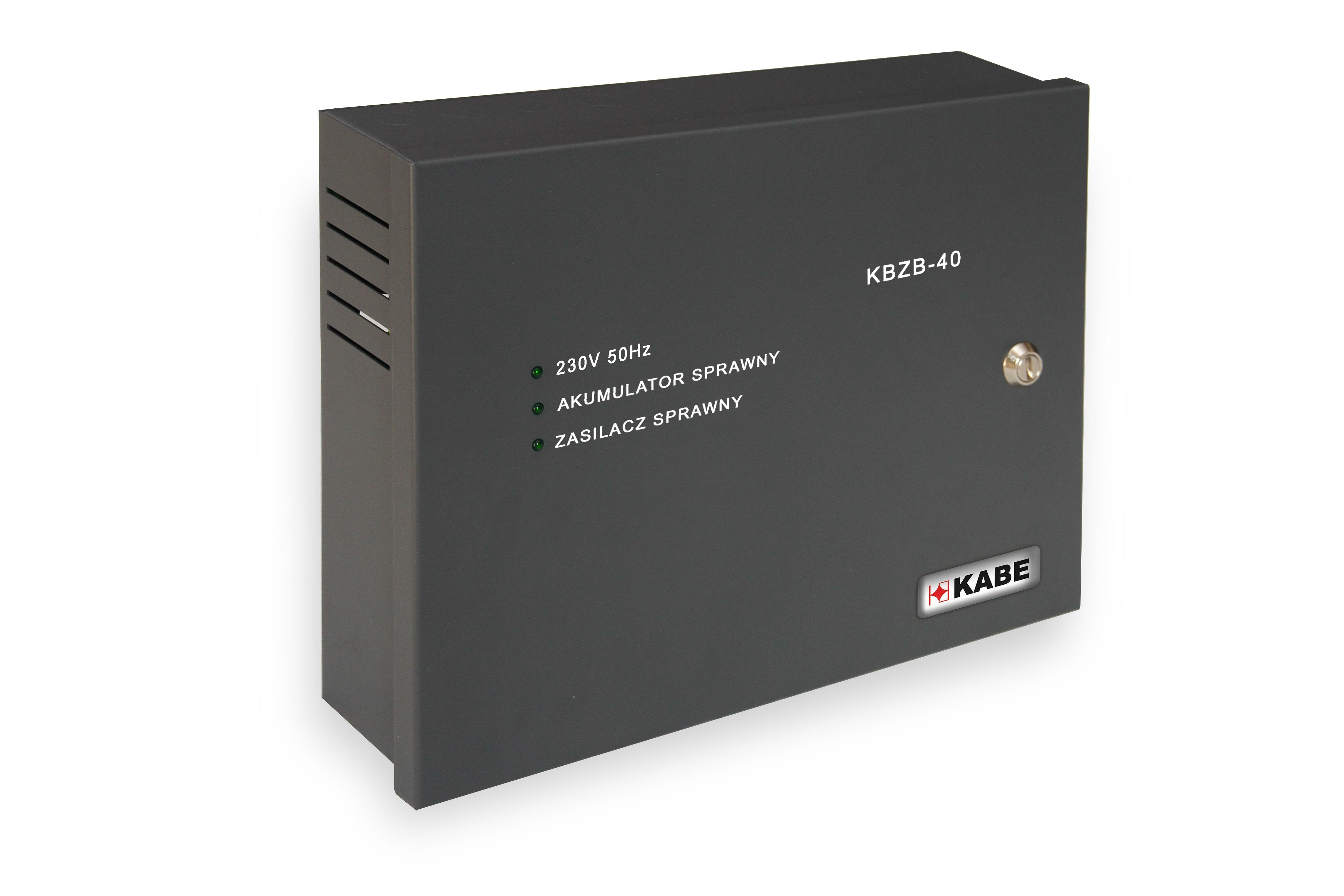 Zasilacz buforowy KBZB-40 3,7A/18Ah