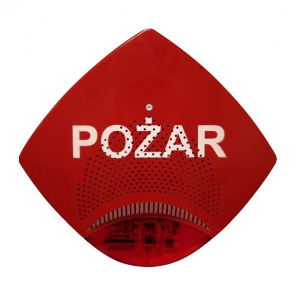 Sygnalizator głosowo-optyczny