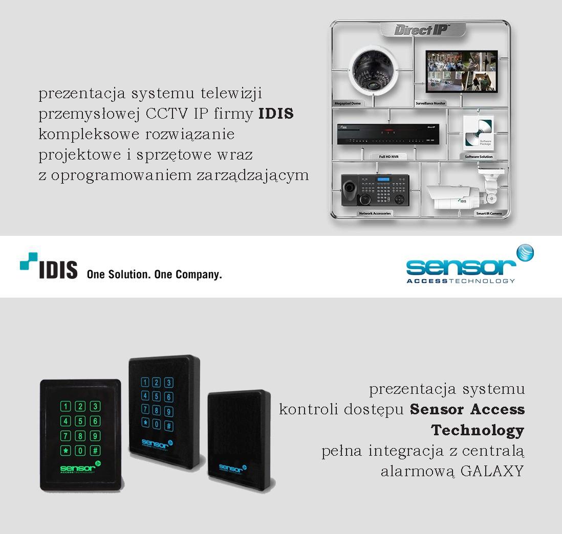 IDIS - SensorAccess - szkolenie z nowych systemów